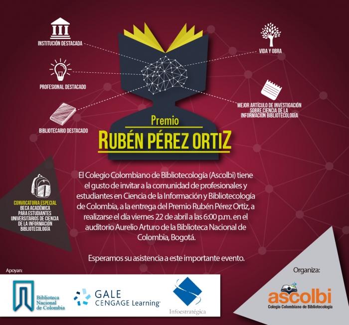 Premio Rubén Pérez Ortiz 2015-2016