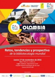 Colombianos en IFLA: retos, tendencias y prospectiva de la bibliotecología mundial