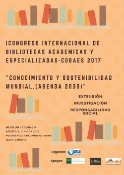 Congreso Internacional Bibliotecas Académicas Especializadas 2017