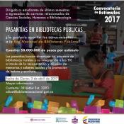 Pasantías en Bibliotecas Públicas 2017