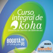 Curso integral de Koha Bogotá 2016-I
